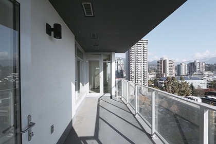 Balcony at 1101 - 1320 Chesterfield Avenue, Central Lonsdale, North Vancouver