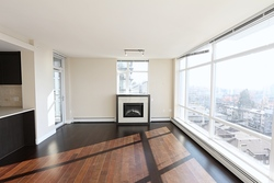 Open living room at 1101 - 1320 Chesterfield Avenue, Central Lonsdale, North Vancouver