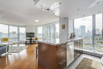 Kitchen at 1106 - 918 Cooperage Way, Yaletown, Vancouver West