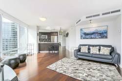 Living Room at 1106 - 918 Cooperage Way, Yaletown, Vancouver West