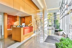 Lobby at 1106 - 918 Cooperage Way, Yaletown, Vancouver West