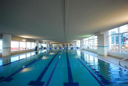 pool at 507 - 138 E Esplanade Avenue, Lower Lonsdale, North Vancouver