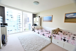 second-bedroom-dt at 2302 - 1281 W Cordova Street, Coal Harbour, Vancouver West