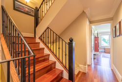 hallway at 4363 W 12th Avenue, Point Grey, Vancouver West