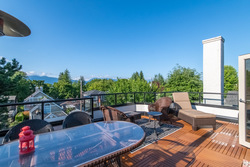 roofdeck at 4363 W 12th Avenue, Point Grey, Vancouver West