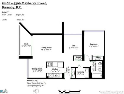 262506423-18 at 1408 - 4300 Mayberry, Metrotown, Burnaby South