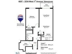 fb7591cea723cb9ca9bc2573683f4aba at 207 - 2234 West 1st Avenue, Kitsilano, Vancouver West
