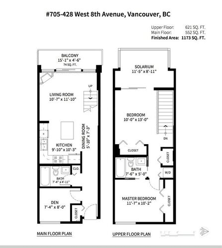 8951984a14518a4ee63f4d9a615375bf at 705 - 428 W 8th Avenue, Mount Pleasant VW, Vancouver West