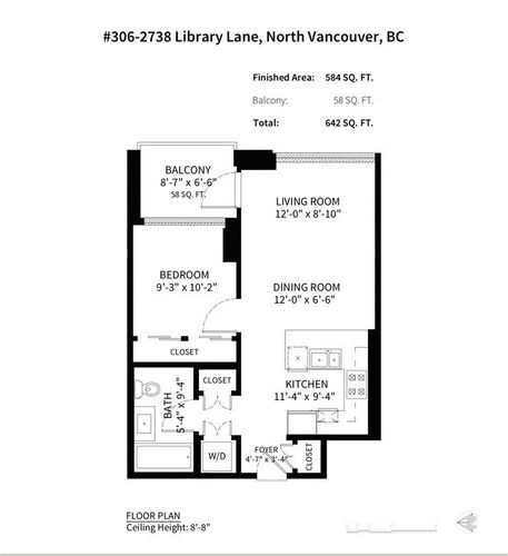 87802e3e00a24ae5a8175a44b91a8947 at 306 - 2738 Library Lane, Lynn Valley, North Vancouver