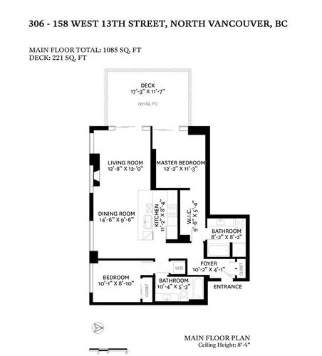 33d7d8b4c1b5b1f97187802a8d5ccc43 at 306 - 158 W 13th Street, Central Lonsdale, North Vancouver