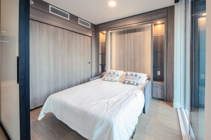 bedroom_001 at 586 - 87 Nelson Street, Yaletown, Vancouver West