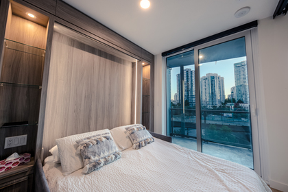 bedroom_002 at 586 - 87 Nelson Street, Yaletown, Vancouver West