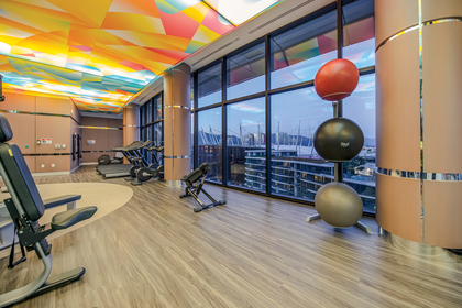 gym_002 at 586 - 87 Nelson Street, Yaletown, Vancouver West