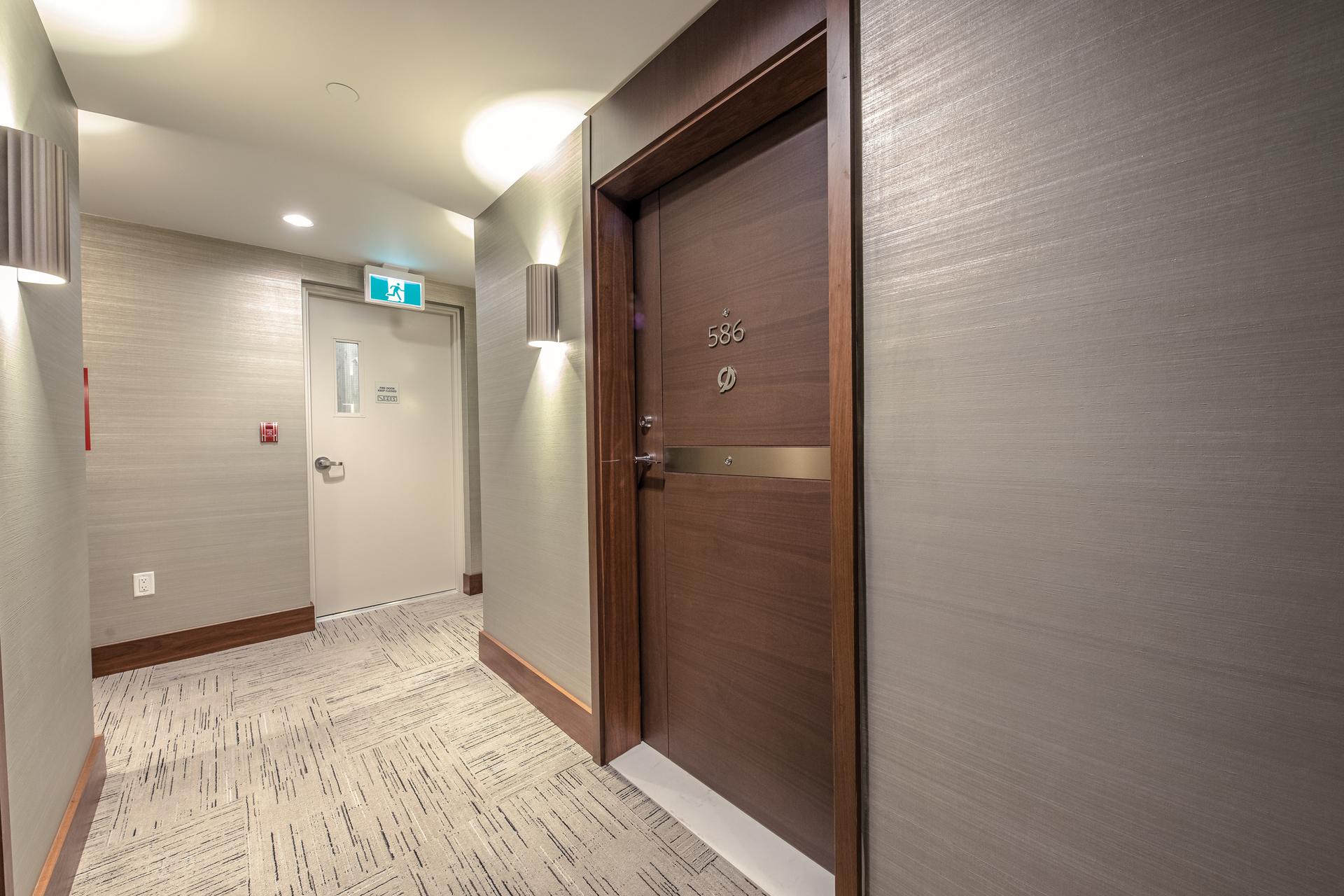 door_001 at 586 - 87 Nelson Street, Yaletown, Vancouver West