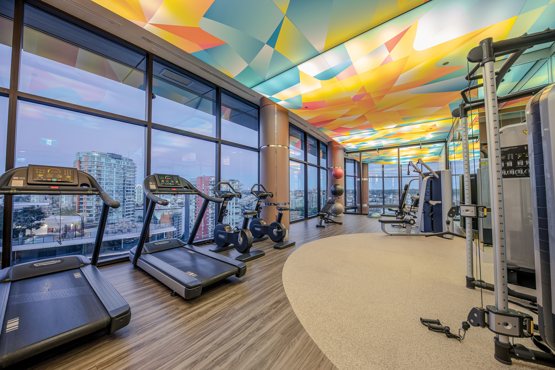 gym_001 at 586 - 87 Nelson Street, Yaletown, Vancouver West
