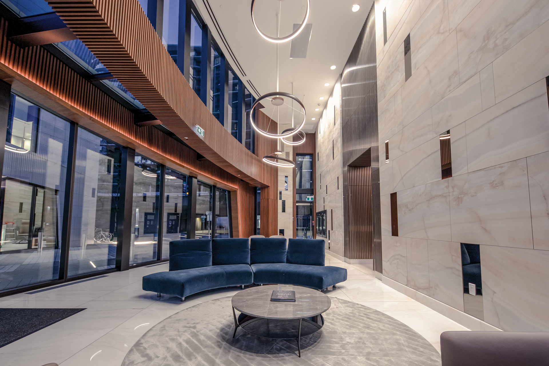 lobby_001 at 586 - 87 Nelson Street, Yaletown, Vancouver West