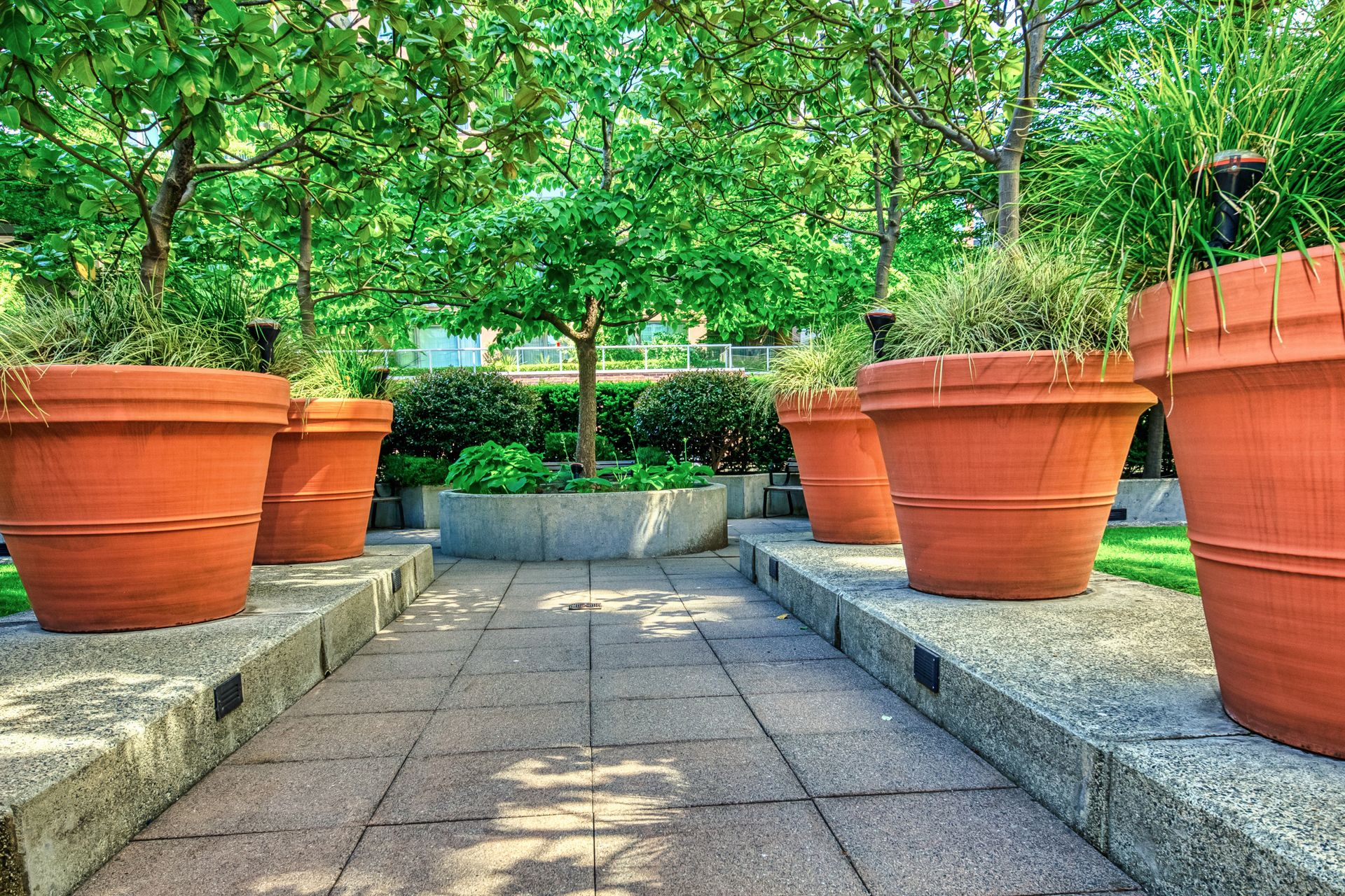 courtyard_001 at TH8 - 989 Richards Street, Downtown VW, Vancouver West
