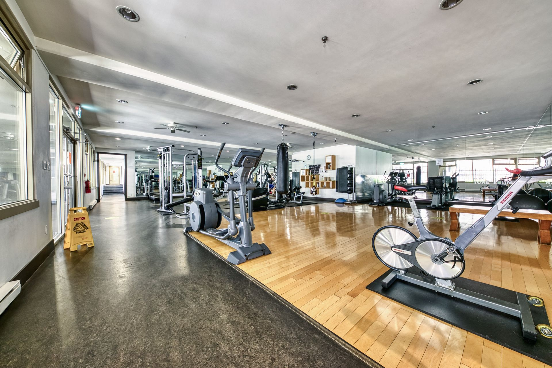 gym_001 at TH8 - 989 Richards Street, Downtown VW, Vancouver West
