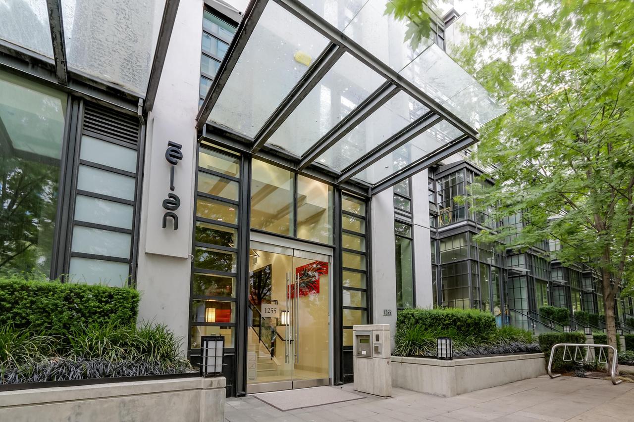 The Elan - 908-1255 Seymour - Main entrance at 908 - 1255 Seymour Street,