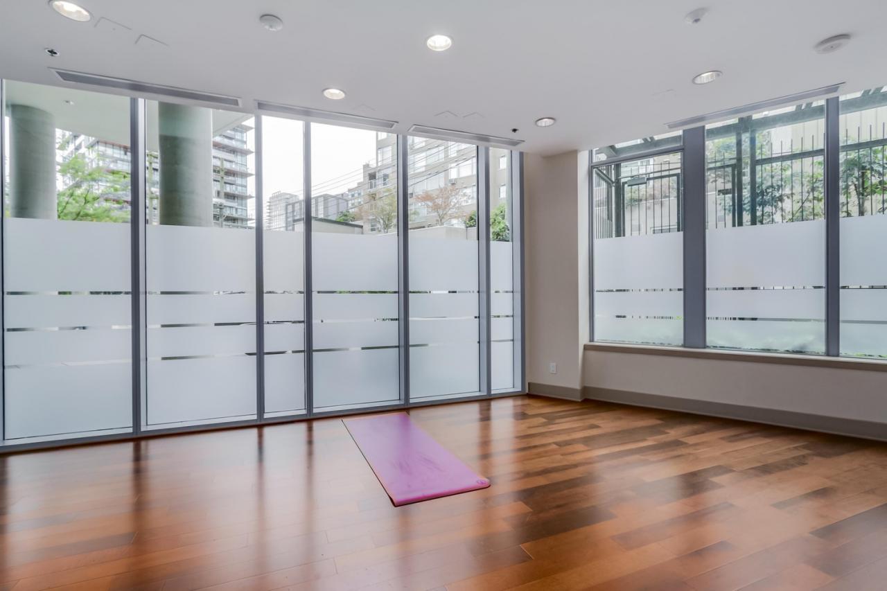 The Elan - 908-1255 Seymour - Yoga studio at 908 - 1255 Seymour Street,