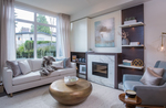 Hamilton-Living-Room at 8 - 6072 Oak Street, Oakridge VW, Vancouver West