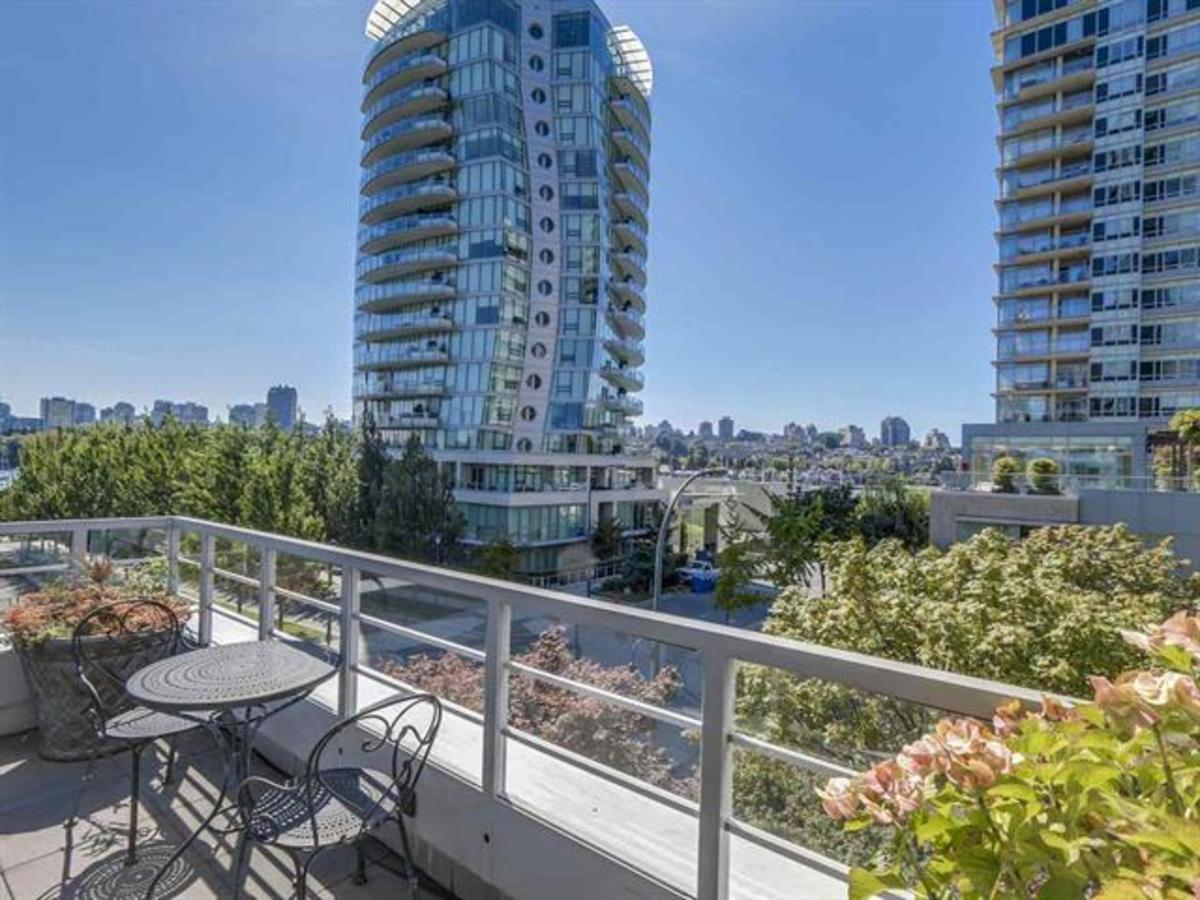 403 Beach Cres - Deck at 403 Beach Crescent, Yaletown, Vancouver West