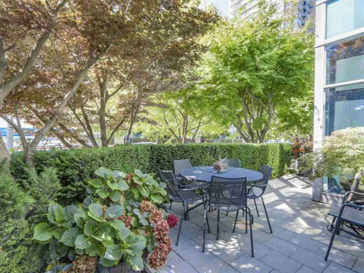 403 Beach Cres - Patio at 403 Beach Crescent, Yaletown, Vancouver West