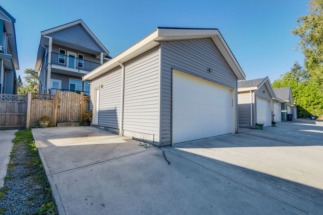 13125 108 Ave - Double garage at 13125 108 Avenue, Whalley, North Surrey