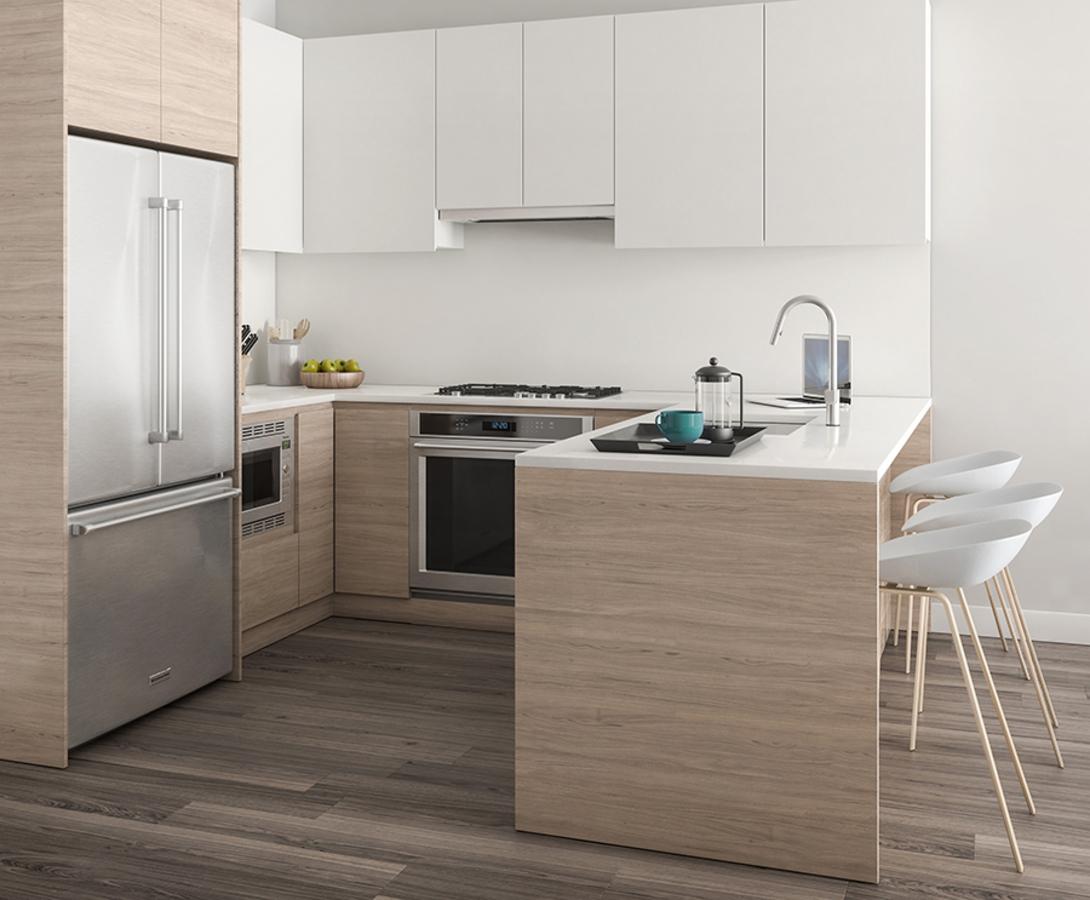 dawson-kitchen-2 at 306 - 4468 Dawson Street, Brentwood Park, Burnaby North