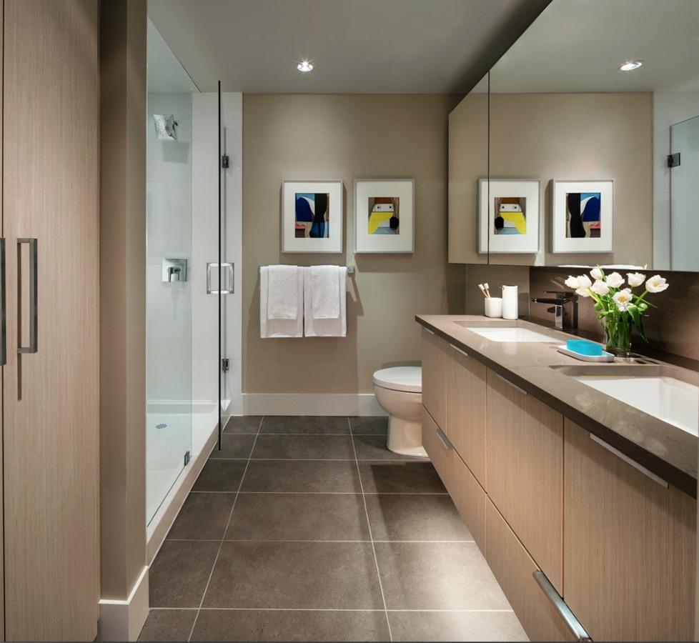 Avalon Park 1 - Bathroom at 203 - 8570 Rivergrass Drive, Fraserview VE, Vancouver East