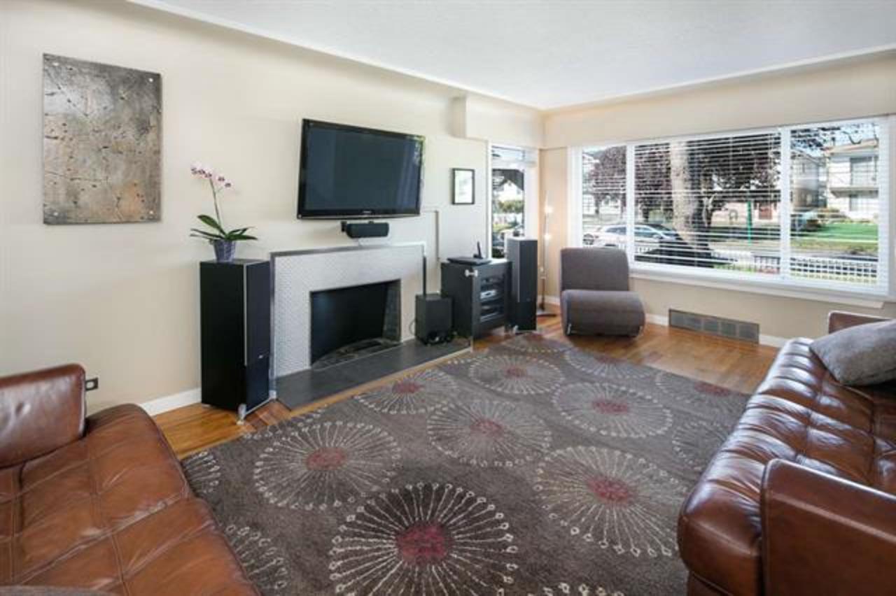 3332 Parker St - Living Room at 3332 Parker Street, Renfrew VE, Vancouver East