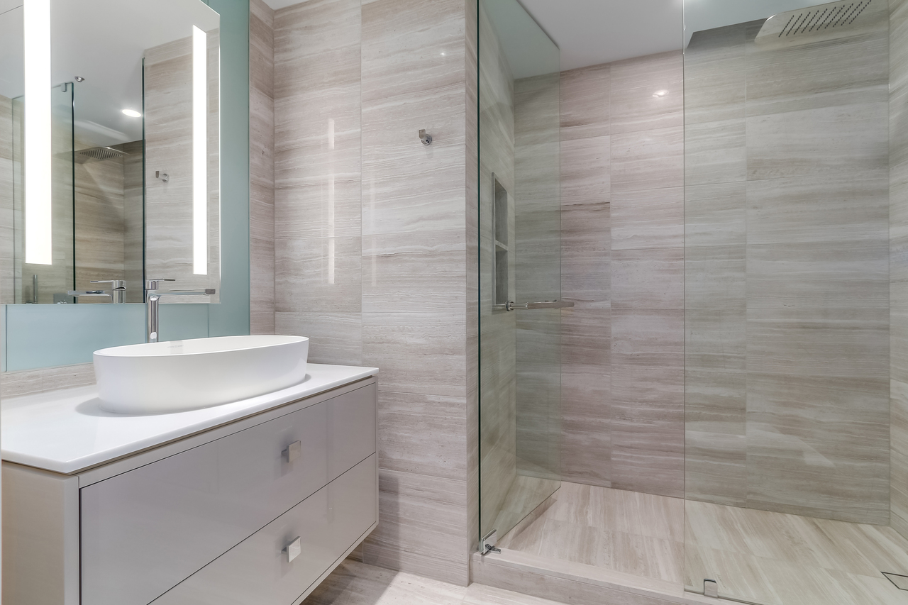 2602-1151 W. Georgia  - Ensuite at 2602 - 1151 W Georgia Street, Coal Harbour, Vancouver West