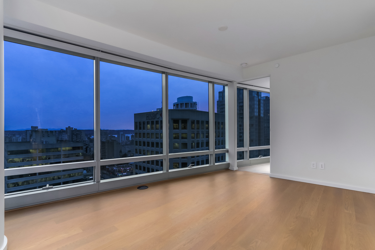 2602-1151 W. Georgia -Living Room at 2602 - 1151 W Georgia Street, Coal Harbour, Vancouver West