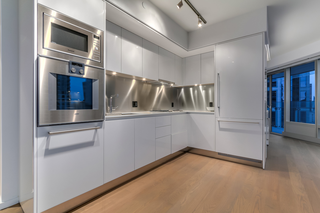 2602-1151 W. Georgia - Arclinea Kitchen System at 2602 - 1151 W Georgia Street, Coal Harbour, Vancouver West