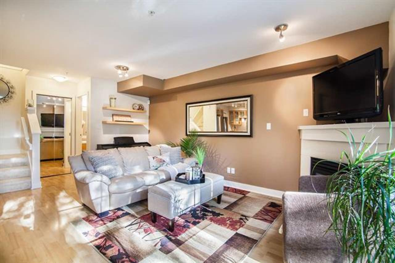 6-9339 Alberta Road - Living Room at 6 - 9339 Alberta Road, McLennan North, Richmond