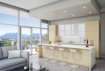 Etoile 2 - Kitchen at 801 - 2360 Douglas Road, Brentwood Park, Burnaby North