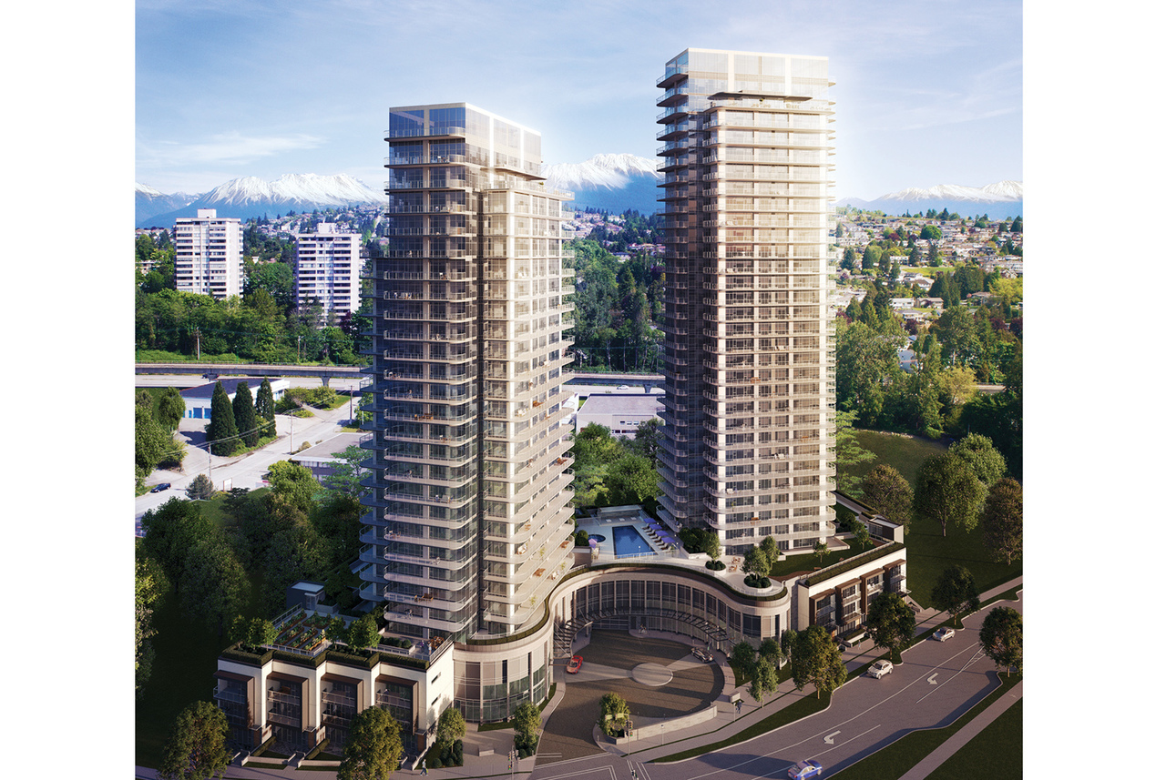 Etoile 2 - Exterior at 801 - 2360 Douglas Road, Brentwood Park, Burnaby North