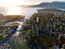 The Pacific - Aeriel View at 1008 - 1380 Hornby Street, Yaletown, Vancouver West