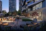 The Pacific - Amenity Terrace at 1008 - 1380 Hornby Street, Yaletown, Vancouver West