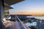 The Pacific - South views at 1008 - 1380 Hornby Street, Yaletown, Vancouver West