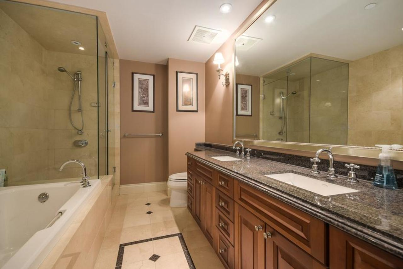Master ensuite at 2101 - 1328 Marinaside Crescent, Yaletown, Vancouver West