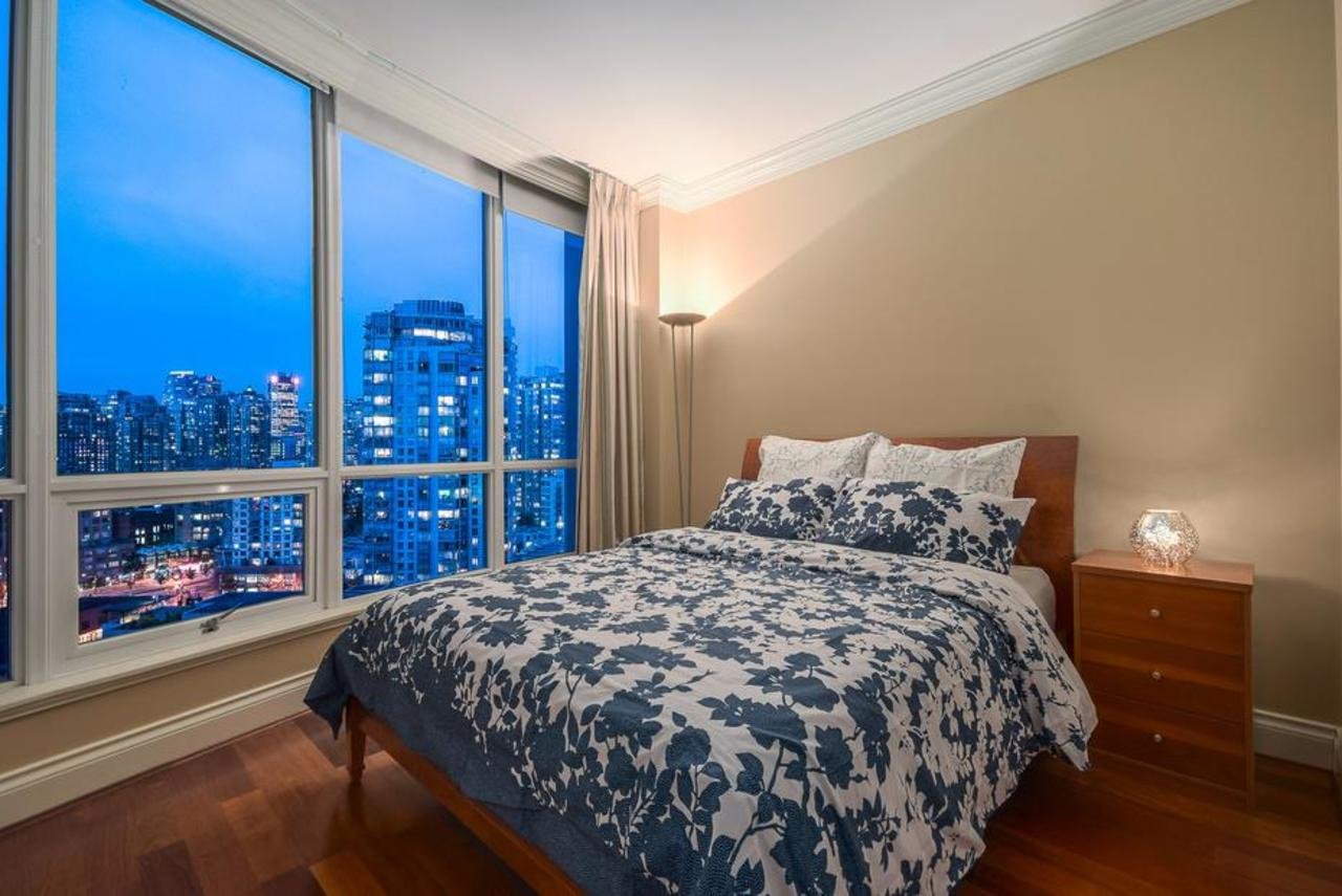 Bedroom at 2101 - 1328 Marinaside Crescent, Yaletown, Vancouver West