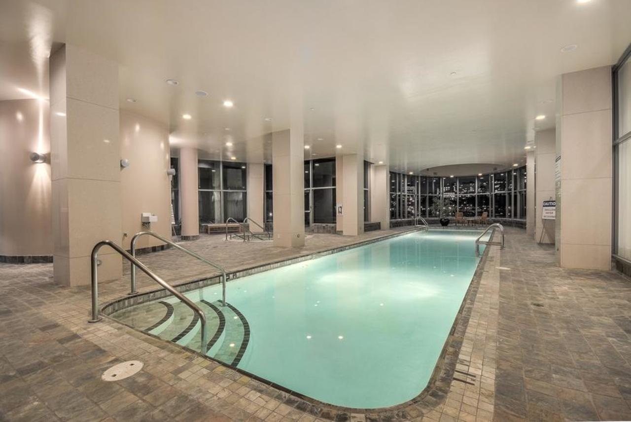 Swimming pool at 2101 - 1328 Marinaside Crescent, Yaletown, Vancouver West