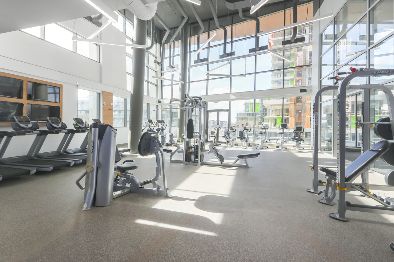 802-3557 Sawmill Crescent - Gym at 802 - 3557 Sawmill Crescent, Champlain Heights, Vancouver East