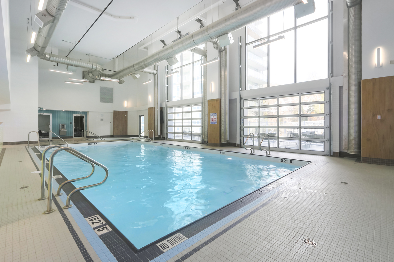 802-3557 Sawmill Crescent - Swimming Pool at 802 - 3557 Sawmill Crescent, Champlain Heights, Vancouver East