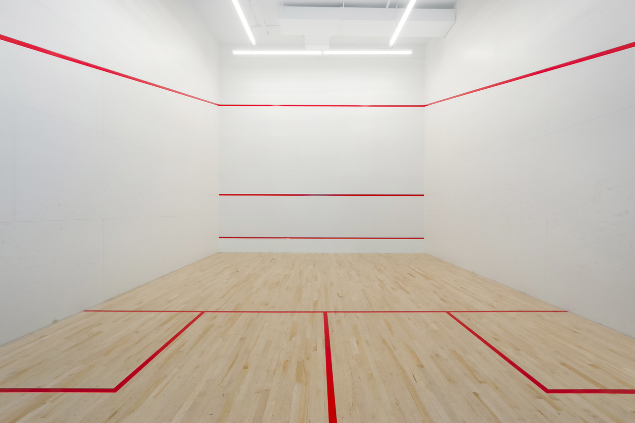 802-3557 Sawmill Crescent - Squash Court at 802 - 3557 Sawmill Crescent, Champlain Heights, Vancouver East