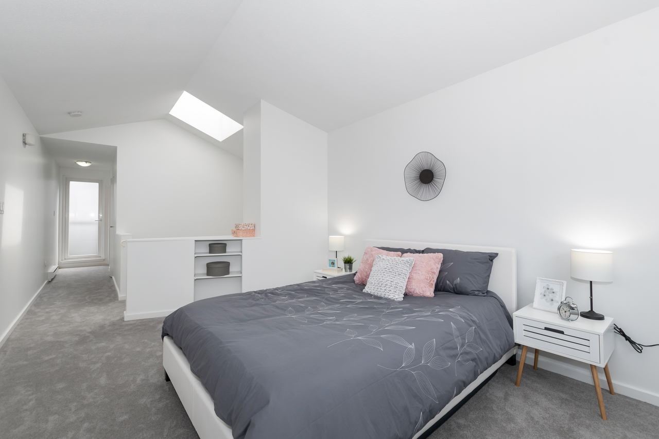 13-888 W. 16th Avenue - Master Bedroom at 13 - 888 W. 16th Avenue, Fairview VW, Vancouver West
