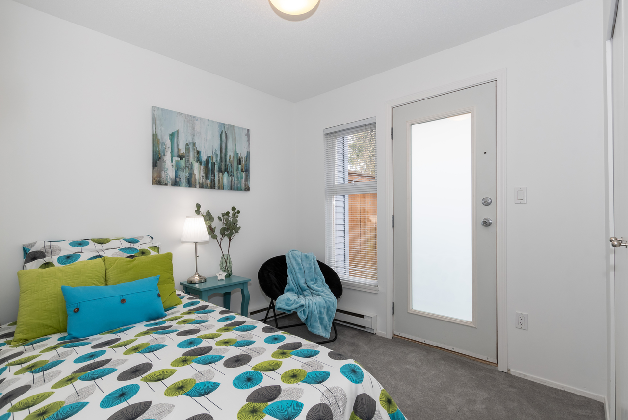 13-888 W. 16th Avenue - Bedroom at 13 - 888 W. 16th Avenue, Fairview VW, Vancouver West