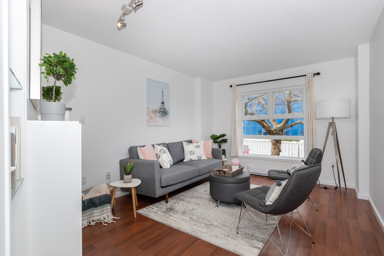 13-888 W. 16th Avenue - Living Room at 13 - 888 W. 16th Avenue, Fairview VW, Vancouver West