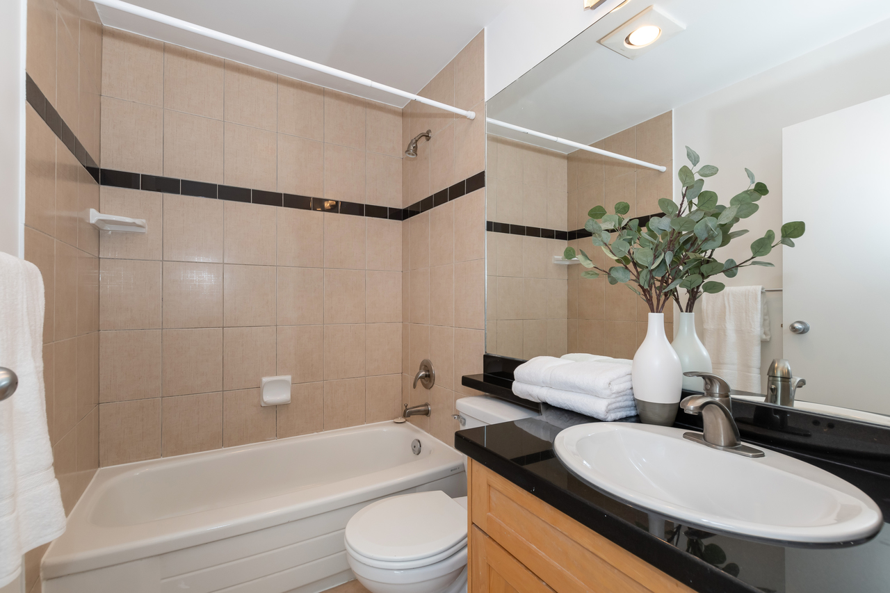 13-888 W. 16th Avenue - Bathroom at 13 - 888 W. 16th Avenue, Fairview VW, Vancouver West